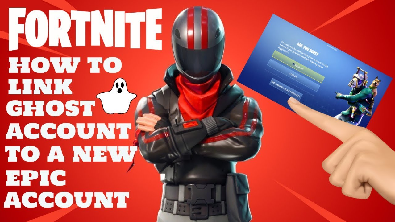 FORTNITE How to Link Ghost Account - YouTube