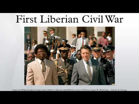 First Liberian Civil War