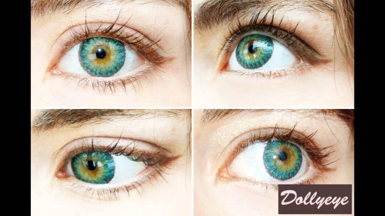 Новые цветные линзы 👁 Линзы,увеличивающие глаза ^_^ Корейские .