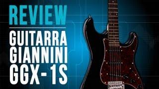 Conheça a Guitarra Giannini GGX-1S no TVCifras Review
