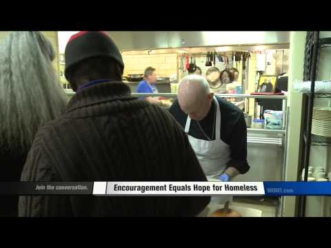 WOWT Video: Omaha Archbishop Spends Thanksgiving At Shelter