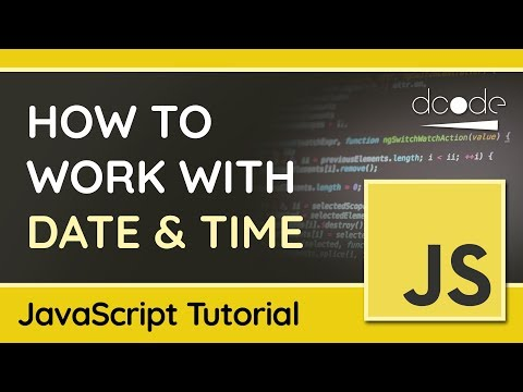 The Date Object - Getting, Setting & Formatting Dates In JavaScript - Tutorial