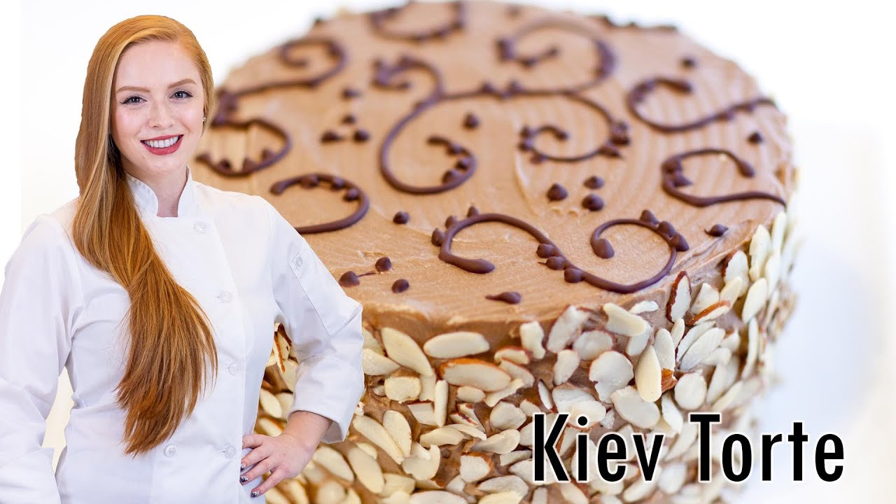 The recipe of Kiev cake is tasty and unusual 35