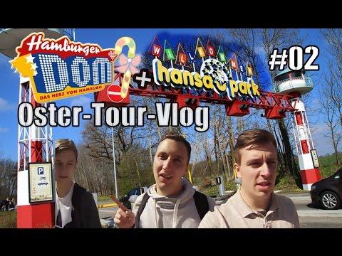 Osternest auf Achterbahn?! Hansa Park + Hamburger DOM | Oster-Tour 2017 Tour VLOG #02