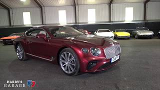 2018 Bentley Continental GT full review 6.0litre W12, 626bhp
