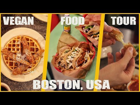 VEGAN FOOD TOUR IN BOSTON, USA