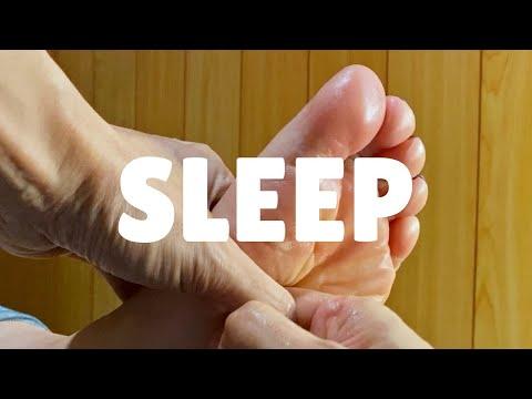寝る足つぼ | 快眠へと誘う足つぼ動画