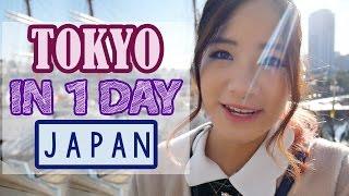Japan Vlog: All over TOKYO in 1 DAY | KimDao in JAPAN