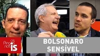 """Debate: """"Sou sensível e passível de mudança"""", diz Bolsonaro"""