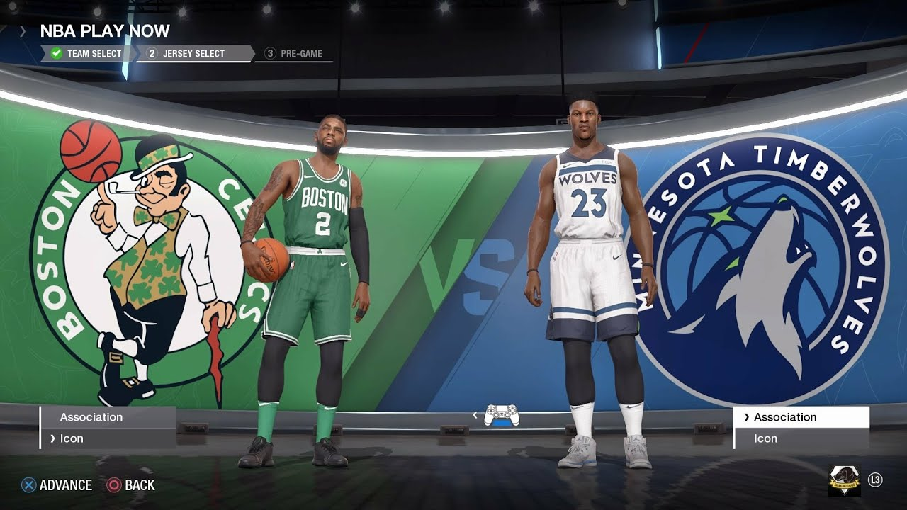 NBA LIVE 18 - Boston Celtics vs Minnesota Timberwolves - YouTube b00c865e2