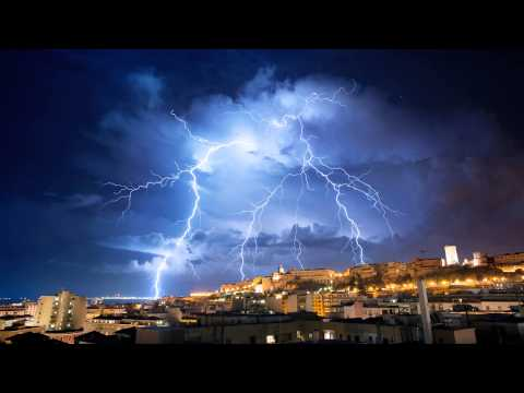 ❤❤ MUSIQUE POUR S'ENDORMIR | AMBIANCE ORAGE PLUIE TONNERRE |  RELAX'ACTION