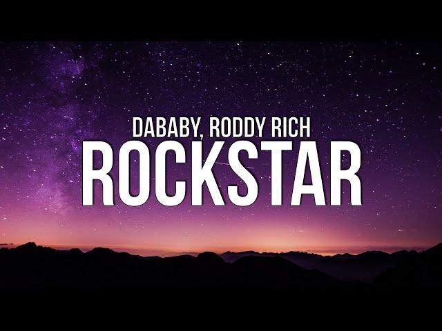 DaBaby - ROCKSTAR (Lyrics) ft. Roddy Ricch