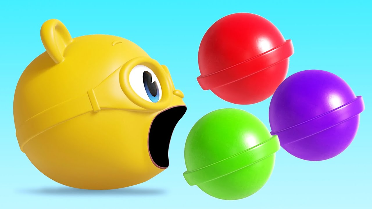 [놀이] 슈퍼잭 재미있는 사탕먹기 색깔놀이 l 알록달록 컬러놀이 l 색깔 배우기 놀이 | Color Candy | Learn Colors l 색깔공부