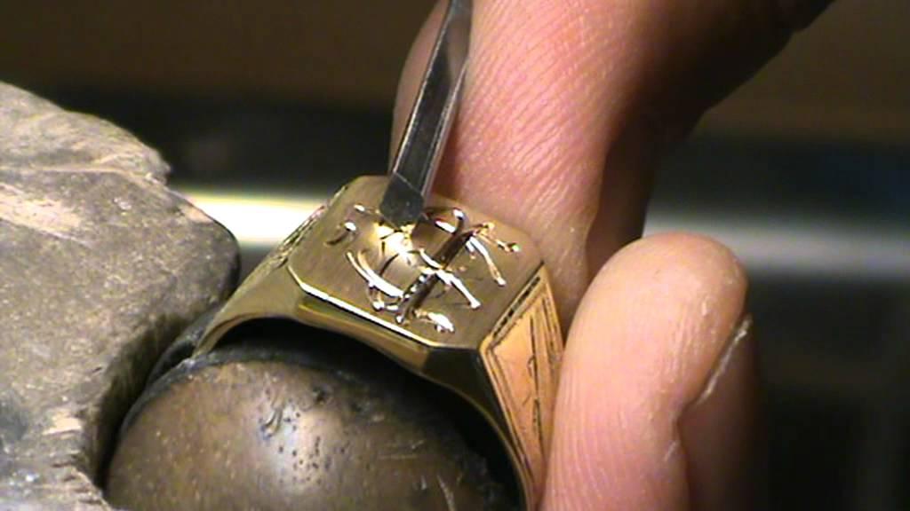 Resultado de imagen para anillos de sello grabado a mano