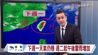 05/14台視晚間氣象
