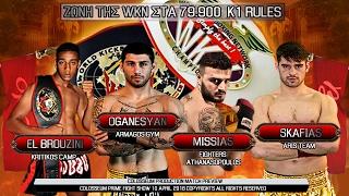 Final Fight for the WKN belt between Manolas, Missias, Oganesyan an...