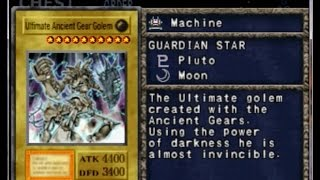 Yu-Gi-Oh! Forbidden Memories II - Ultimate Ancient Gear Golem