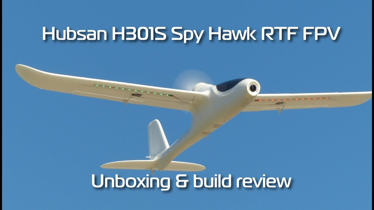 Hubsan H301S HAWK 5 8G FPV 4CH RC Airplane RTF With GPS Module