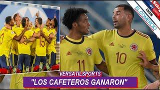 ASI REACCIONA PRENSA ECUATORIANA a VICTORIA de COLOMBIA vs ECUADOR COPA AMERICA 2021