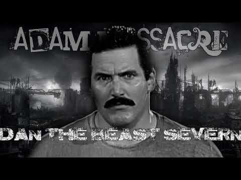 "Dan ""The Beast"" Severn ""Fighter"" (Adam Massacre cover)"