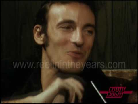 Bruce Springsteen- Interview on Countdown 1978