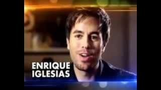 Enrique Iglesias talks about Sunidhi Chauhan & his track Heartbeat (Indian Mix)