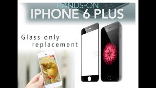 New Method Original Apple iPhone 6 Plus Glass Only Replacement / Remplacement du verre