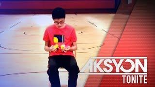 Teenager sa China, hawak ang tatlong world record sa Rubik's Cube