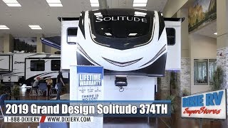 2019 Grand Design Solitude 374TH for sale now at Dixie RV in Hammond, Louisiana