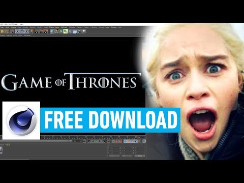 Game Of Thrones - 3D Title Font Download Pack