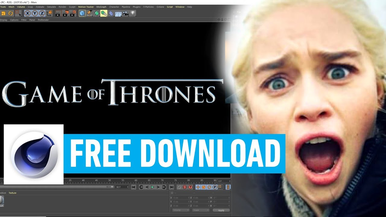 Game of Thrones 3D Movie Font - Free Download - VIDEO MARK