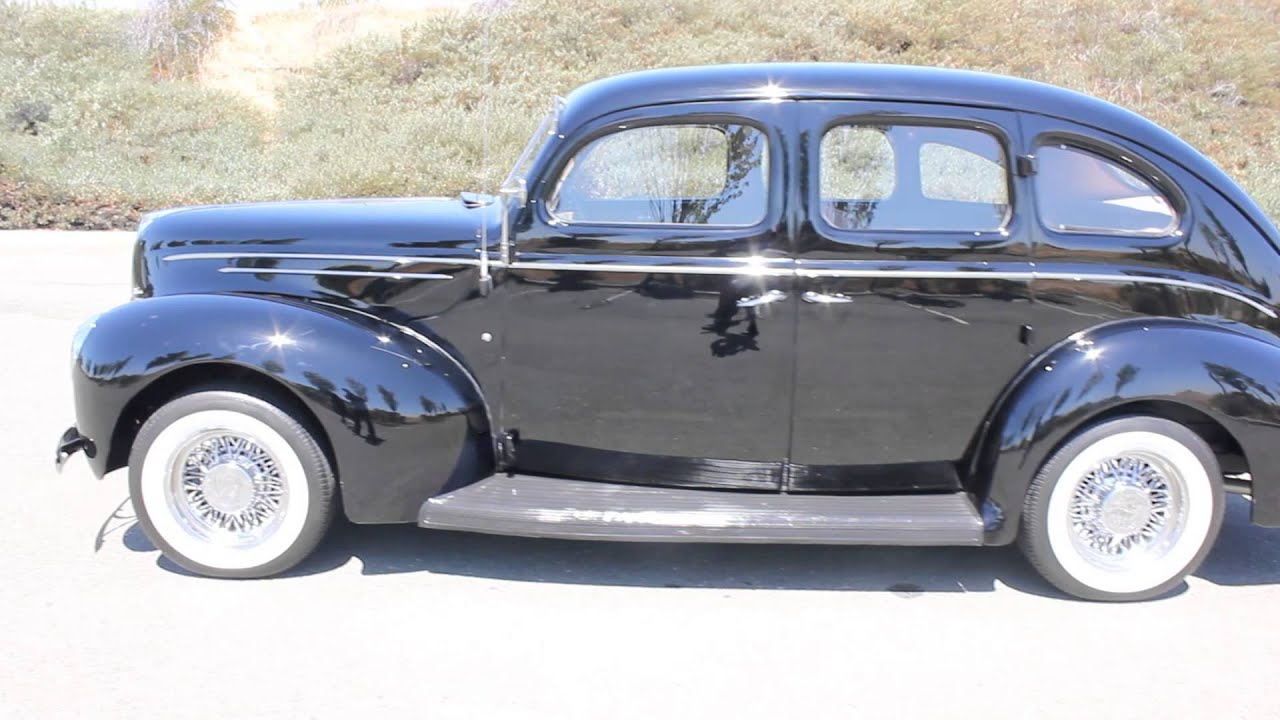 b8051 1939 ford deluxe 4 door sedan youtube
