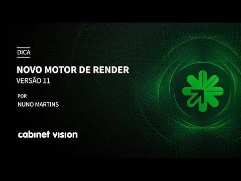 Dica 08 Cabinet Vision | Novo Motor de Render