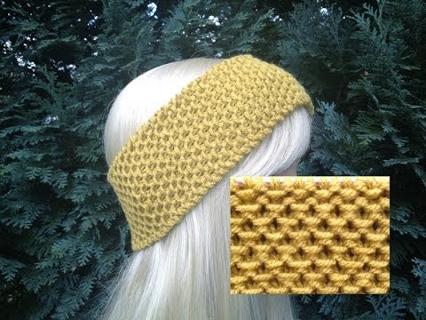 How To Knit Earwarmers Headband Pattern 91by Thepatternfamily