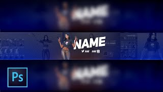 *Free* FORTNITE YOUTUBE BANNER TEMPLATES KYLIE JENNER SKIN PSD DOWNLOAD FREE