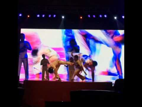 VIVA BRAZIL Capoeira Indonesia Jakarta show Huawei show