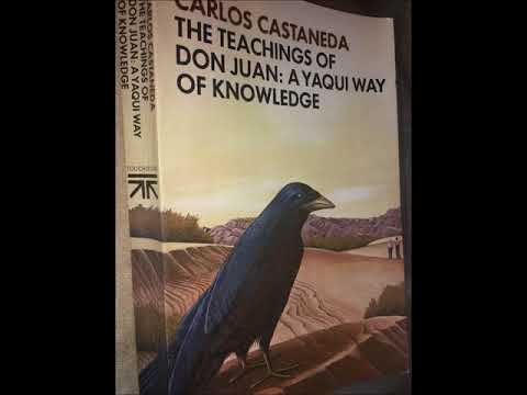 Reading book by Carlos Castaneda The teachings of Don Juan Chapter 001 Audiobook Natural reading