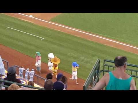 The Milwaukee Brewers Sausage Race