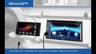 MirrorLink™ In-car smartphone operation with Sony Car Audio