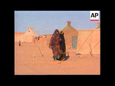 WESTERN SAHARA: JAMES BAKER MEDIATES IN MOROCCAN DISPUTE