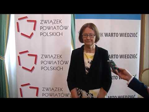 Prof. UKSW dr hab. Irena Lipowicz podczas Zgromadzenia Jubileuszowego ZPP