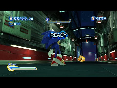 Sonic Generations (PC): All Speed Highway Modern Challenge Acts (S-Ranks)