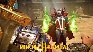 Mk11- New Spawn Vs Conan the Barbarian Intro Showcase