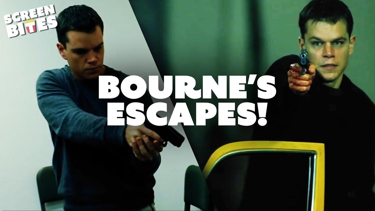 Download Jason Bourne's Greatest Escapes   The Bourne Supremacy   Screen Bites