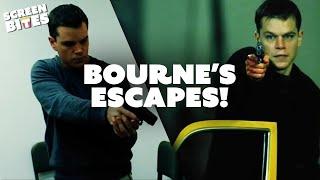 Jason Bourne's Greatest Escapes | The Bourne Supremacy | SceneScreen