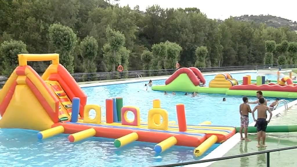 fiesta infantil acutica en las piscinas de oira