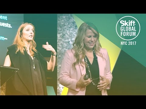 MGM Resorts Chief Experience Officer & CMO Lili Tomovich at Skift Global Forum 2017