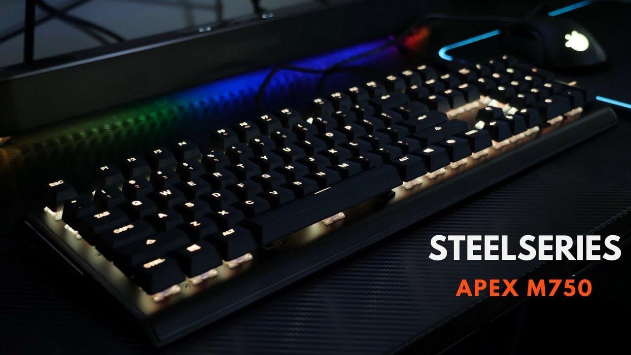 386b5702724 Steelseries Apex M750 Mechanical Keyboard: RGB Lighting King ...