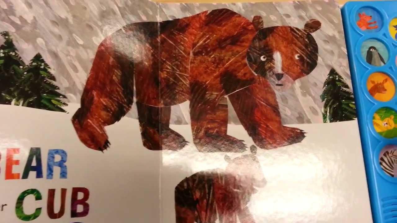 Eric Carle Animal Babies Sound Book Youtube