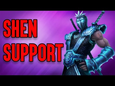 Shen Support | Fan Games with Karp